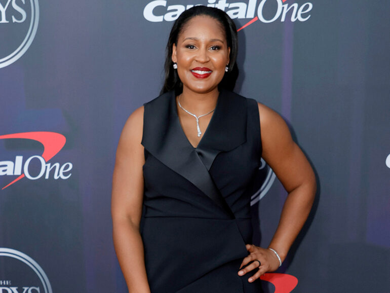 Maya Moore Accepts Arthur Ashe Award for Her Work with Criminal Justice Reform at 2021 ESPY Awards